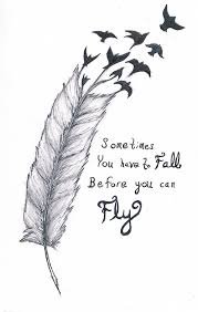 you can fly you have to fall before you can fly by verbeiacelt on deviantart
