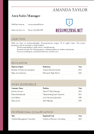 gallery of free professional resume template free english cv