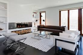 Modern Rugs For Living Room Modern Fireplace Contemporary Living Room Haus Interior