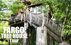 tiny house with basement a dream tree house near fargo nd pete nelson tiny house in a