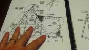 a frame blueprints great plans to build an a frame tiny house for around 1200 for