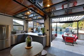 cool garage doors cool garage doors kitchen contemporary with microwave ovens