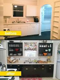 rental kitchen ideas kitchen before after a rental kitchen gets a glam makeover