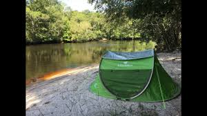 pop up tent by zomake review and demo