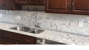 White Glass Metal MODERN BACKSPLASH TILE For Contemporary To - Glass and metal tile backsplash