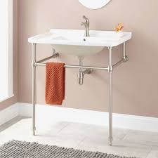 Bathroom Console Vanity Sink Bathroom Console Vanity Sink For Vessel Sinks With 98