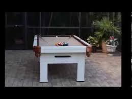cool outdoor pool tables youtube