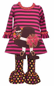 bonnie baby thanksgiving bonnie jean tunic and legging set thanksgiving turkey pilgrim hat