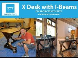 How To Build A Desk From Scratch How To Make A Desk Rustic Desk Youtube