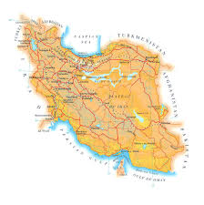 World Map Iran by Maps Of Iran Detailed Map Of Iran In English Tourist Map Of