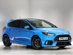 ford focus for sale scotland used 2016 ford focus rs hatchback 2 3 ecoboost 5dr for sale in