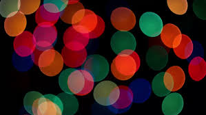 black colored christmas lights abstract defocused colorful blinking lights christmas and new year