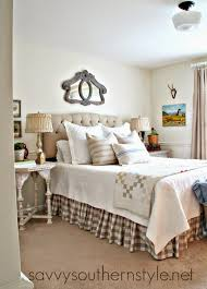 savvy southern style old bed new room guest room french country