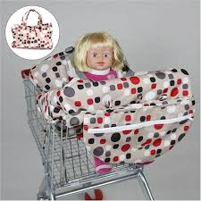 siège bébé caddie pliable bébé chariot panier siège pad enfant chaise haute protecteur