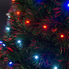 3 4 5 6 7ft pre lit fiber optic christmas tree artificial holiday