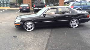 lexus wheels and tires 1991 lexus ls 400 stops by rimtyme richmond va on 20 u0027 u0027 kronik