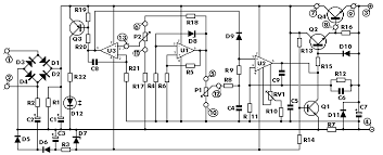 High Voltage Bench Power Supply - 0 30 vdc stabilized power supply with current control 0 002 3 a