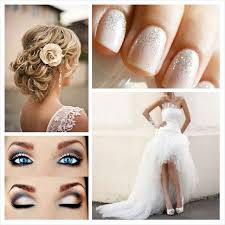 maquillage mariage yeux bleu www robe discount inspiration mariage coiffure chignon avec