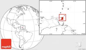 where is and tobago located on the world map blank location map of and tobago
