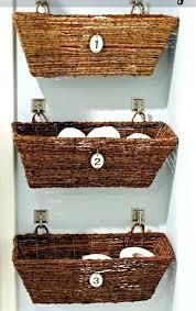Baskets For Bathroom Storage Bathroom Storage Baskets Stylish Creative Bathroom Storage Wicker