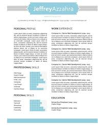 Ut Resume The Jeffrey Resume Creative Resume Template