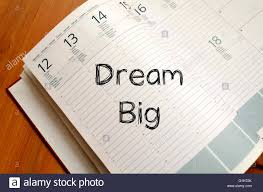 write on paper dream big text concept write on notebook stock photo royalty free dream big text concept write on notebook
