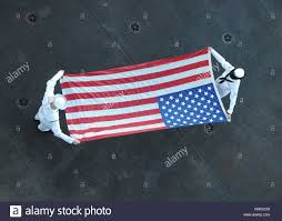Flag Folded Into Triangle Flag Folding Stock Photos U0026 Flag Folding Stock Images Alamy