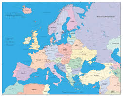 European Map by Editable Europe Map With European Union Members Illustrator