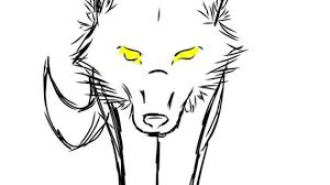 simple drawing of a wolf tribal wolf drawing tattoos pinterest