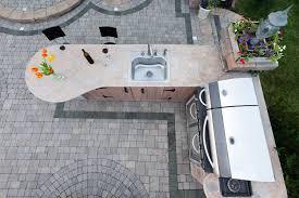 Outdoor Kitchen With Sink Plein Air Cooking Designing Your Outdoor Kitchen