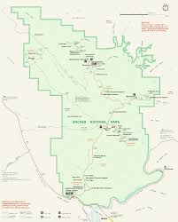 Utah Maps by Arch National Park Arch National Park Utah Guide