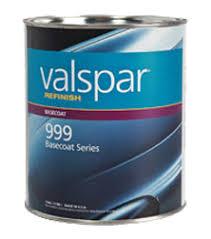 valspar refinish u2014 999 series basecoat valspar refinish