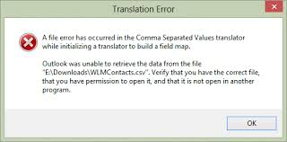 csv format outlook import sle outlook csv file