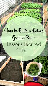 chicago jogger how to build a raised garden bed lessons learned