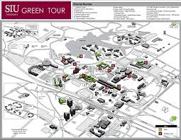 Illinois State University Campus Map by Green Tour Sustainability Siu