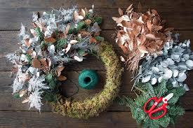 in the christmas spirit diy wreath for anthropologie philippa