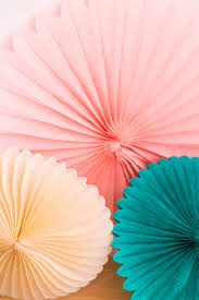 tissue paper fans teal paper fan tissue paper fan party decoration soiree supply