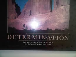determination quote pics determination the race is not always to the swift but to those who
