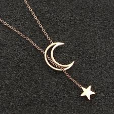 star statement necklace images Stainless steel hollow star moon necklace jewelry i sell what i love jpg