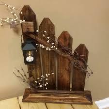 primitive lantern candle holder decor rustic reclaimed