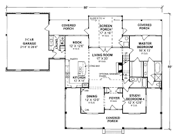 farmhouse floor plans house plan 68162 at familyhomeplans com