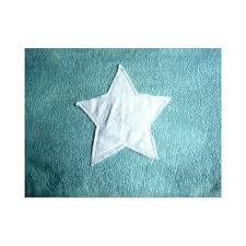 serviette de bain bio cape de bain bleue avec étoile blanche