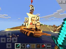 mcpe big pirate ship the krusty bucket mcpe maps minecraft