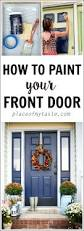 best 25 front door painting ideas on pinterest diy exterior