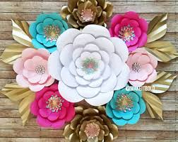 Paper Flower Large Paper Flowers Giant Flowers Paper Flower