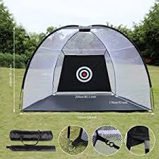 Backyard Golf Practice Net Amazon Com Ancheer Golf Driving Net Portable Pop Up Golf