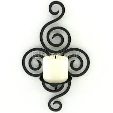 Glass Wall Sconces For Candles Sconce Pomeroy Pentaro Candle Holder Sconce Wall Lighting