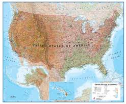map usa for buy wall maps from maps international map shop