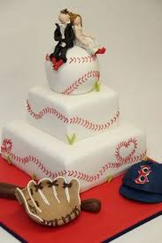 baseball wedding cake toppers sports themed weddings cool baseball themed wedding cakes