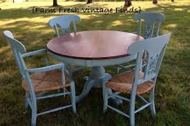 Annie Sloan Duck Egg Blue by Annie Sloan Duck Egg Table And Chairs Farm Fresh Vintage Finds